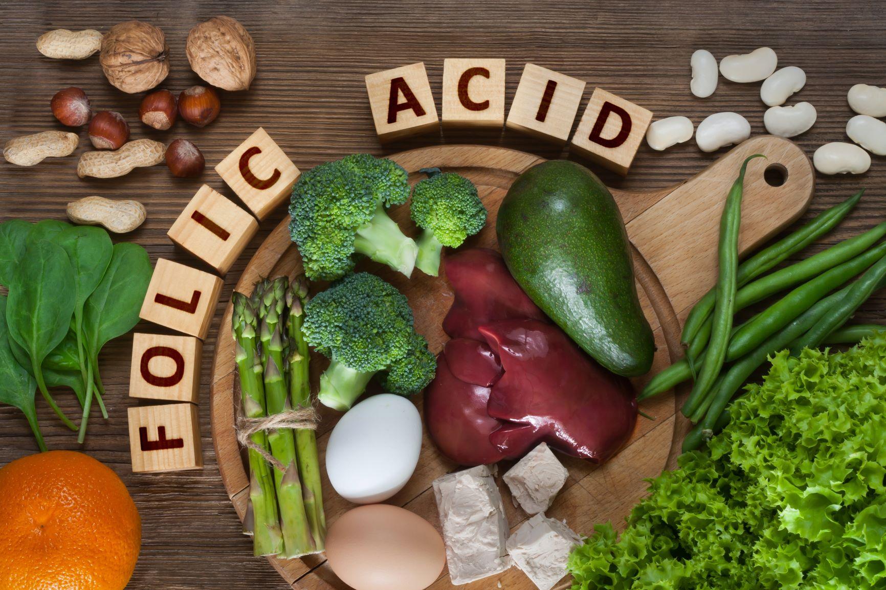 مواد غذایی حاوی فولیک اسید